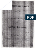 Maestros Del Clavecin - Elena Waiss Rene Amengual