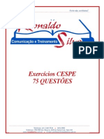 EXERCÍCIOS CESPE