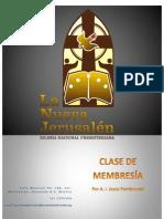 Clase de Membresía de la INP LA NUEVA JERUSALEN III