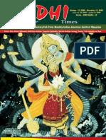 Siddhi Times-October 2009-Dr. Commander Selvam