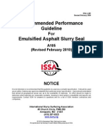 Slurry Seal Issa a105