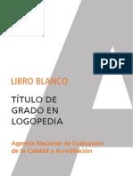 Libroblanco Logopedia Def