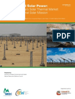 India Concentrated Solar Power