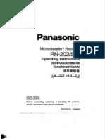 Rn-502 Microcassette Recorder Panasonic