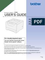 Brother Laser Printer User guide 5340D, 5370DW, 5370DWT
