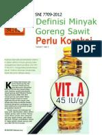 Koreksi SNI Minyak Goreng InfoSAWIT Vol Vii No 2 Feb 2013 p26 27