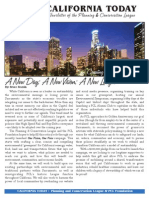 May 2012 California Today, PLanning and Conservation League Newsletter