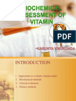 Biochemical Assessment of Vitamin D