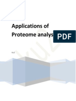 Application of Proteome Analysis