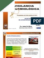 CEVE, Lineamientos y Algoritmos Influenza 27ago09
