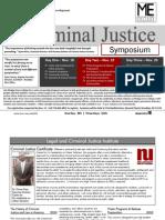 Criminal Justice Symposium-Certificate W-09