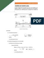 DISEÑO DE PUENTE LOSA FINAL pdf