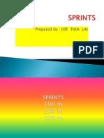 Sprints Ppt