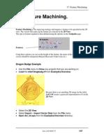 ArtCam 17 Feature Machining