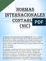 Normas Internacionales Contables Expocicion