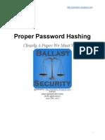 Password Hasineng