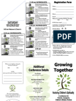 2009 Growing Together Brochure