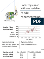 Machine learning coursera