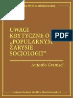 Antonio Gramsci - Uwagi krytyczne o Popularnym zarysie socjologii.pdf