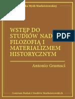 Antonio Gramsci - Wstęp do studiów nad filozofią i materializmem historycznym.pdf