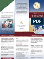 Triptico Mito Detras de La Anestesia