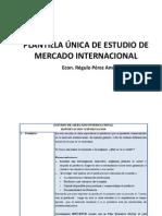 Plantilla de Estudio de Mercado Internacional