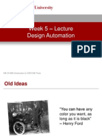 Week 5 - Design Automation - Lecture Presentation