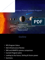 NASA Space Nuclear Power2014