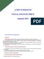 Audit Energetic 2014