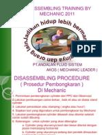 Materi Training Mechanic 2011