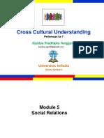 Cross Culture_Pertemuan 7_Modul 5_Mitha & Ayodya.pptx