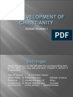 The Development of Christianity Part 1