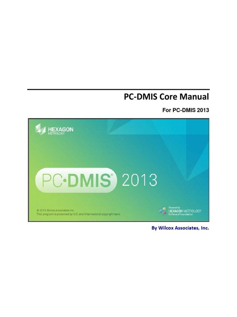 PCDMIS Core 2013 Manual Spa