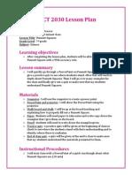 EDCT 2030 Lesson Plan- Punnett Squares