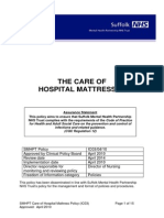 IC03 Care of Hospital Mattress Policy (2010.04.06) - Final