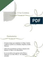Corpus Paulino (1 Cor.)