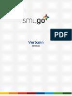 Report Vertcoin 20140308
