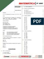Matematica 6 Ano Lista de Matematica 2 Bim (1)