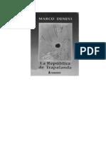Denevi, Marco - La Republica de Trapalanda