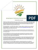 Spring Equinox Celebrations Welcome Light and Renewal
