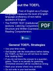 TOEFL Tips Reading