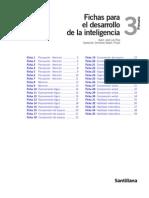 Fichas Desarrollo Inteligencia 3 Soluciones