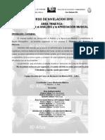 Analisis y Apreciacion Musical - Contenido Auditivo