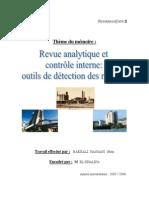 120775825 Revue Analytique Et Controle Interne Outils de Detection Des Risques