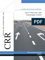 Marquage routier