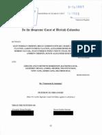 Supreme Court Petition by Glen Chernen