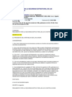Reglamento Para La Seguridad Estructural de Las Construcciones