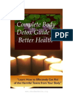 Complete Body Detox Book