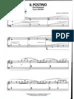 Luis Bacalov - Il Postino - Piano