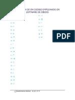 Creacion de Un Codigo Empleando Un Software de Dibujo
